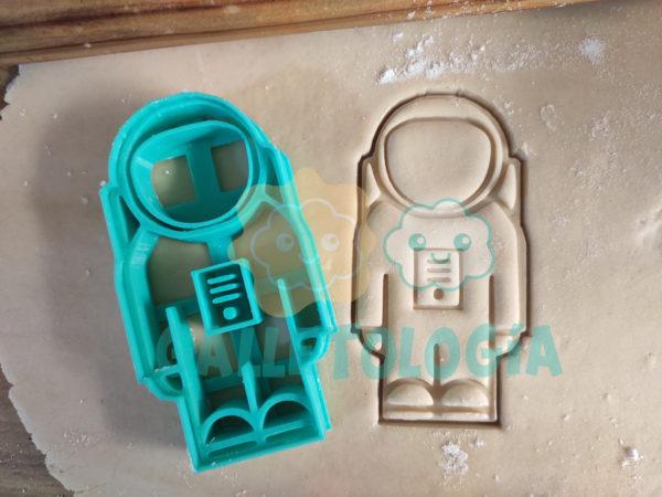 Cortador de galletas de astronauta
