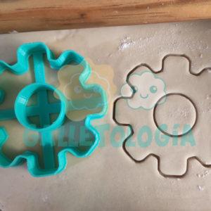 Cortador de galletas de engrane