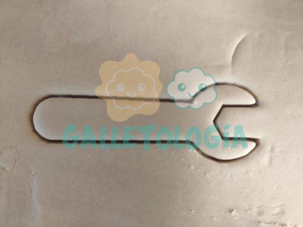 Cortador de galletas de llave