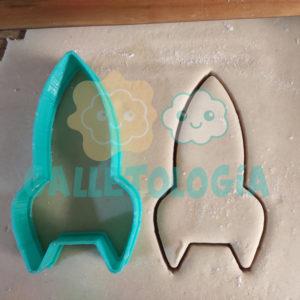 Cortador de galletas de nave espacial
