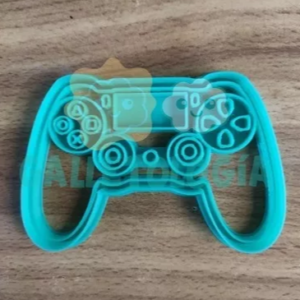 Cortador de galletas de play station