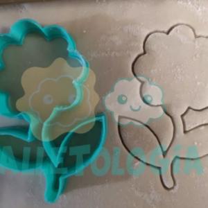 Cortador de galletas de flor